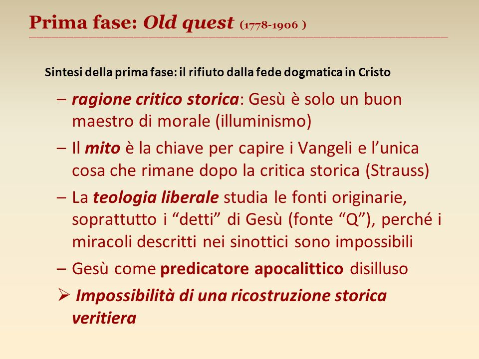 Seconda fase: «New quest» (1906 - 1985)