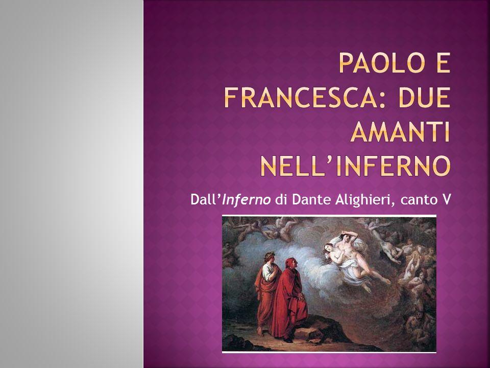 DallInferno di Dante Alighieri, canto V