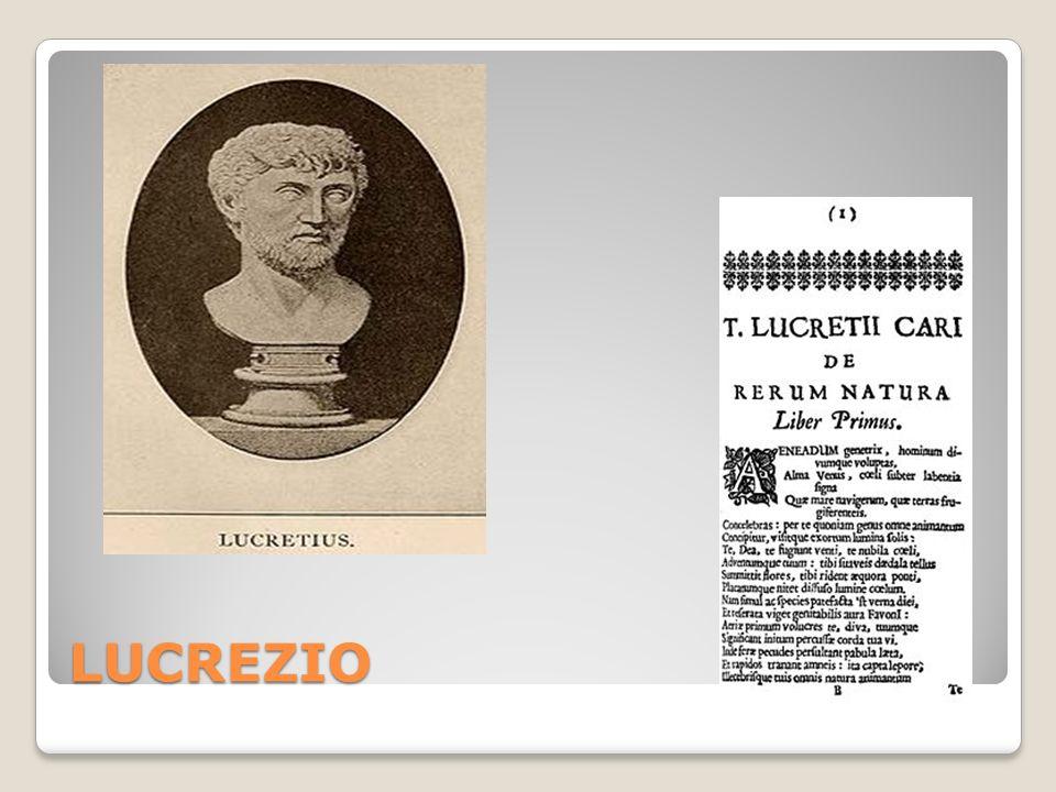 LUCREZIO De rerum natura NON crede nelletà delloro: Uomo primitivo rozzo animale (v.