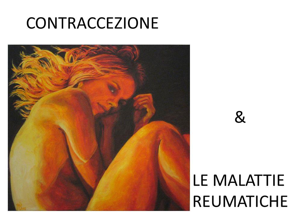 LE MALATTIE REUMATICHE & CONTRACCEZIONE