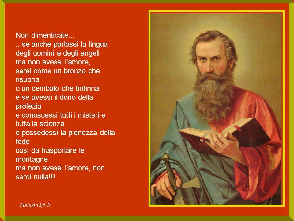 San Paolo è cantore di Dio, banditore della gloria di Dio, promotore del culto di Dio, propugnatore delle leggi di Dio, il segregato di Dio, il prigioniero di Cristo, che vive in Cristo.