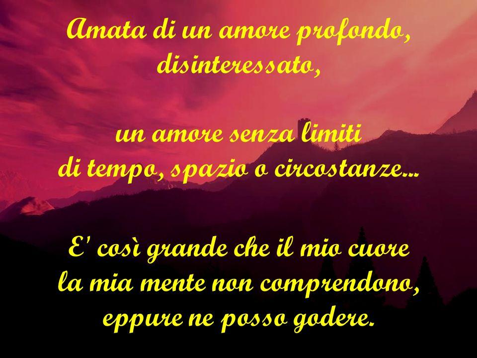Viene chiesto a me di dare amore a chi non e amabile, a chi, ferito e solo, fatica a riceverlo.