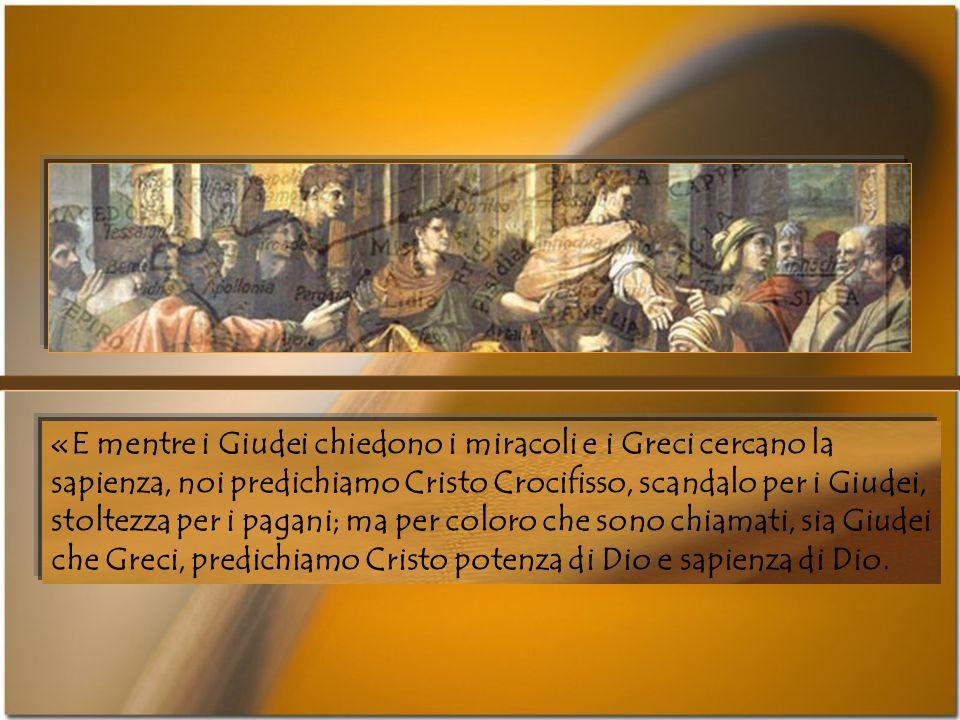 Nellannuncio paolino e nella sapienza cristiana, invece, morte e risurrezione devono restare scandalosamente inseparabili, «per non rendere vana la cr