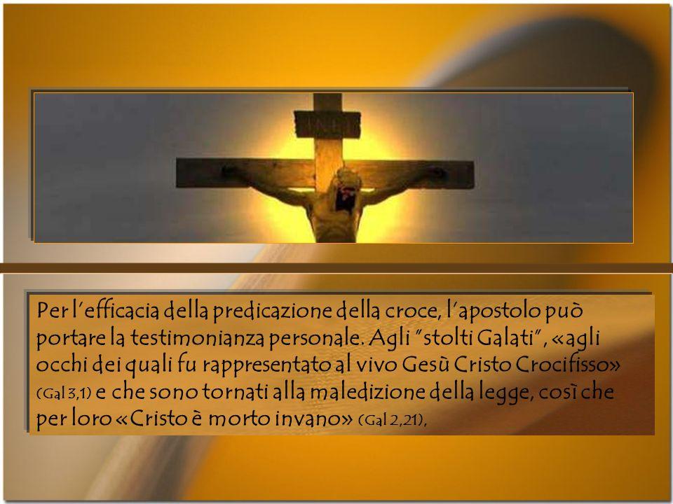 «Lamore del Cristo ci spinge, al pensiero che uno è morto per tutti» (2Cor 5, 14); «Dio dimostra il suo amore per noi, perchè mentre eravamo ancora pe