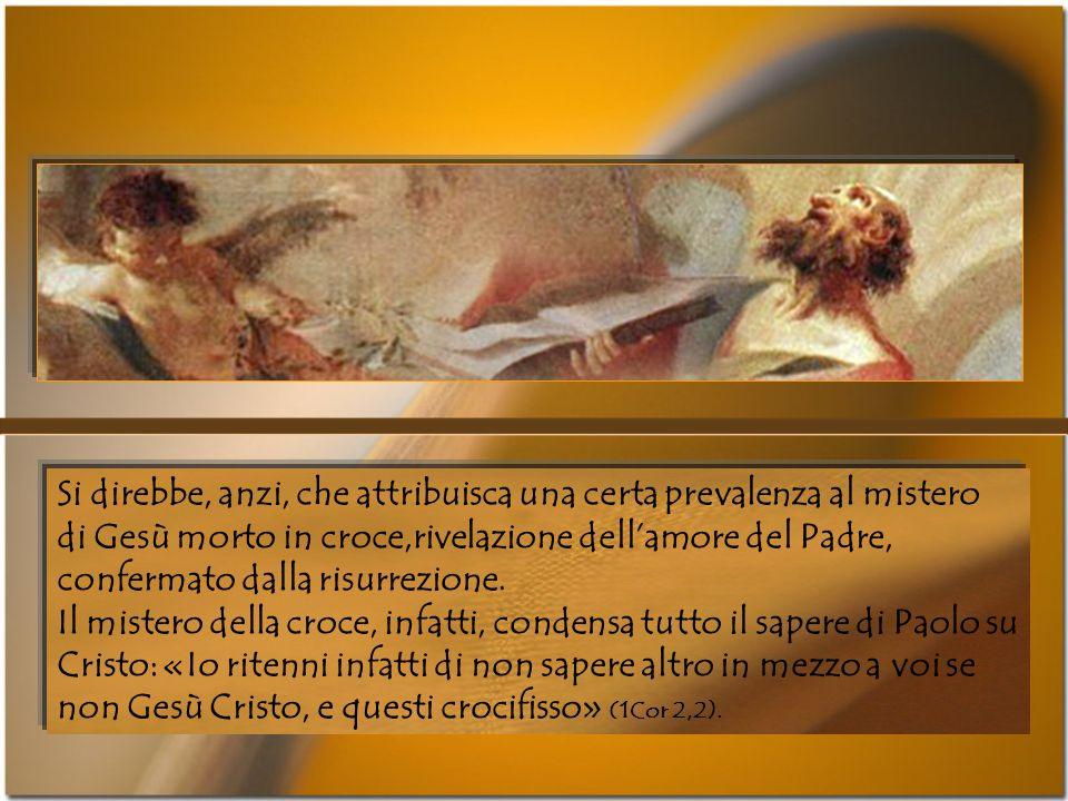 Al cristiano il compito di corrispondere a questo evento salvifico: «Lamore di Cristo ci spinge, al pensiero che uno è morto per tutti, perché quelli