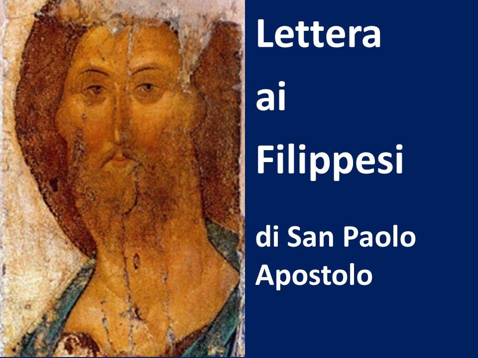 di San Paolo Apostolo Lettera ai Filippesi
