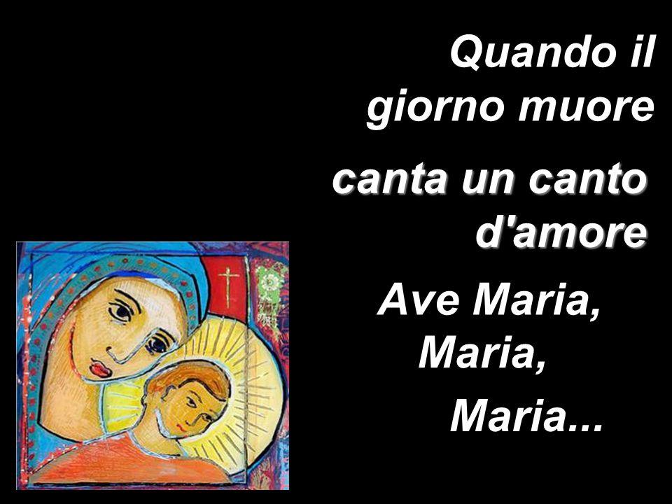 come un incanto un armonia Ave Maria