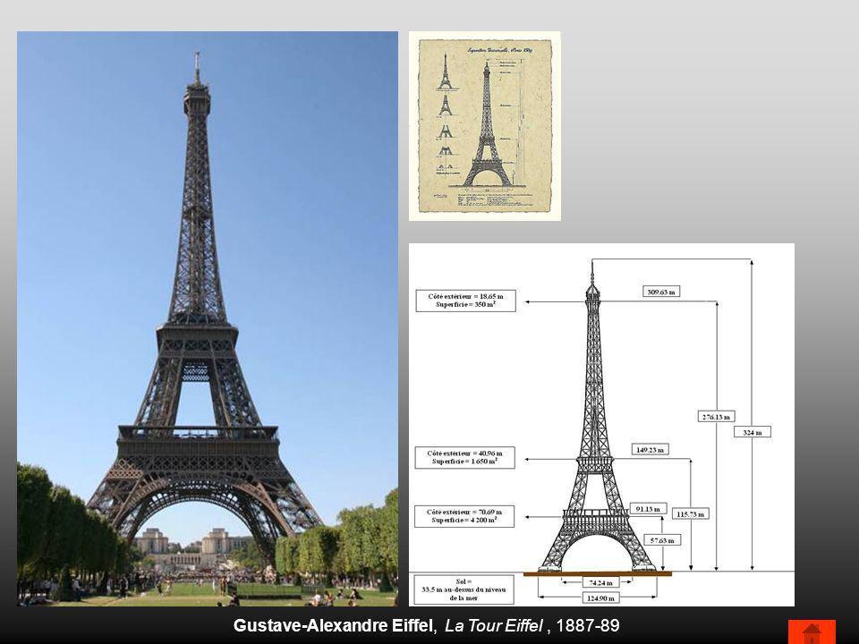 Gustave-Alexandre Eiffel, La Tour Eiffel, 1887-89