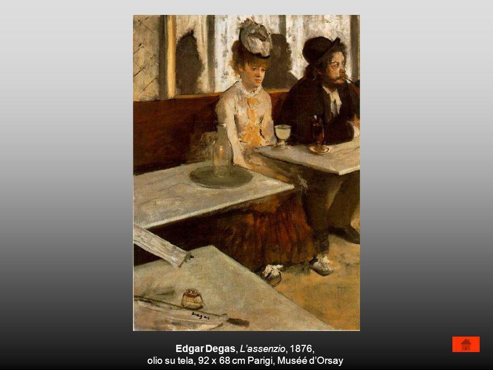 Edgar Degas, Lassenzio, 1876, olio su tela, 92 x 68 cm Parigi, Muséé dOrsay
