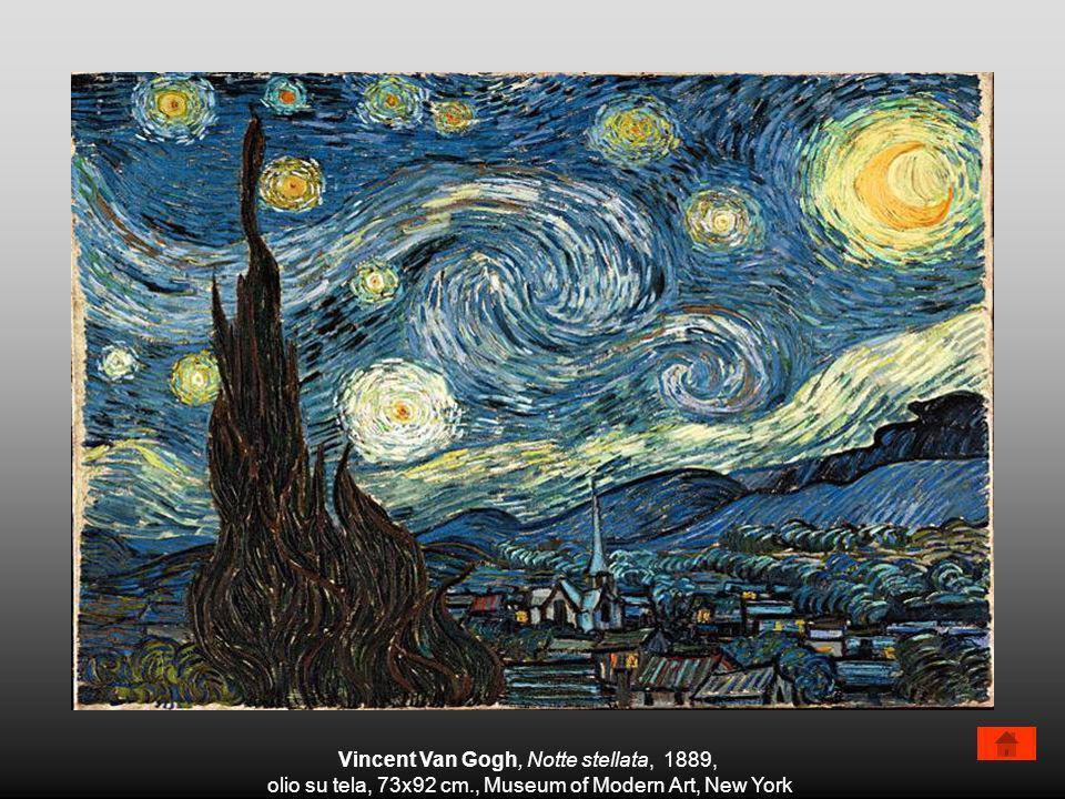 Vincent Van Gogh, Notte stellata, 1889, olio su tela, 73x92 cm., Museum of Modern Art, New York