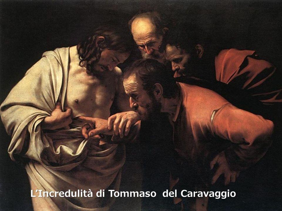 LIncredulità di Tommaso del Caravaggio