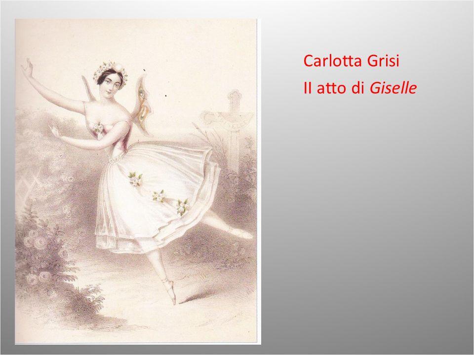 Carlotta Grisi II atto di Giselle
