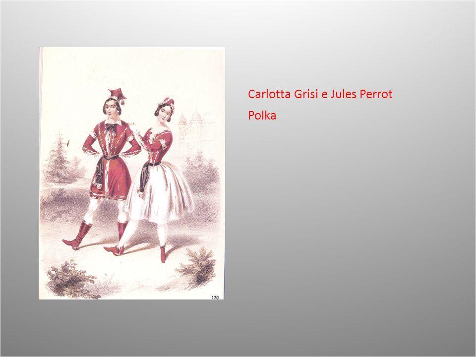 Carlotta Grisi e Jules Perrot Polka