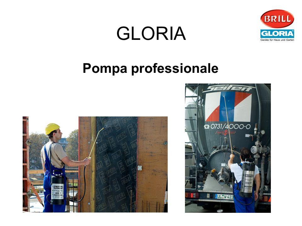 GLORIA Pompa professionale