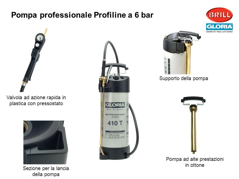 Supporto della pompa Pompa ad alte prestazioni in ottone Valvola ad azione rapida in plastica con pressostato Sezione per la lancia della pompa Pompa