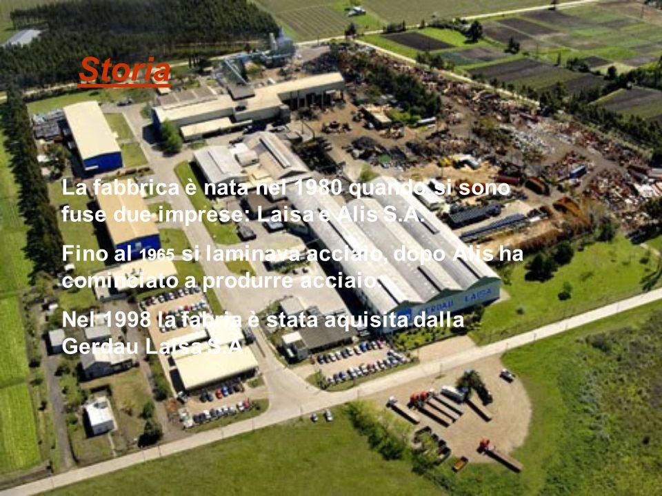 La fabbrica è nata nel 1980 quando si sono fuse due imprese: Laisa e Alis S.A.