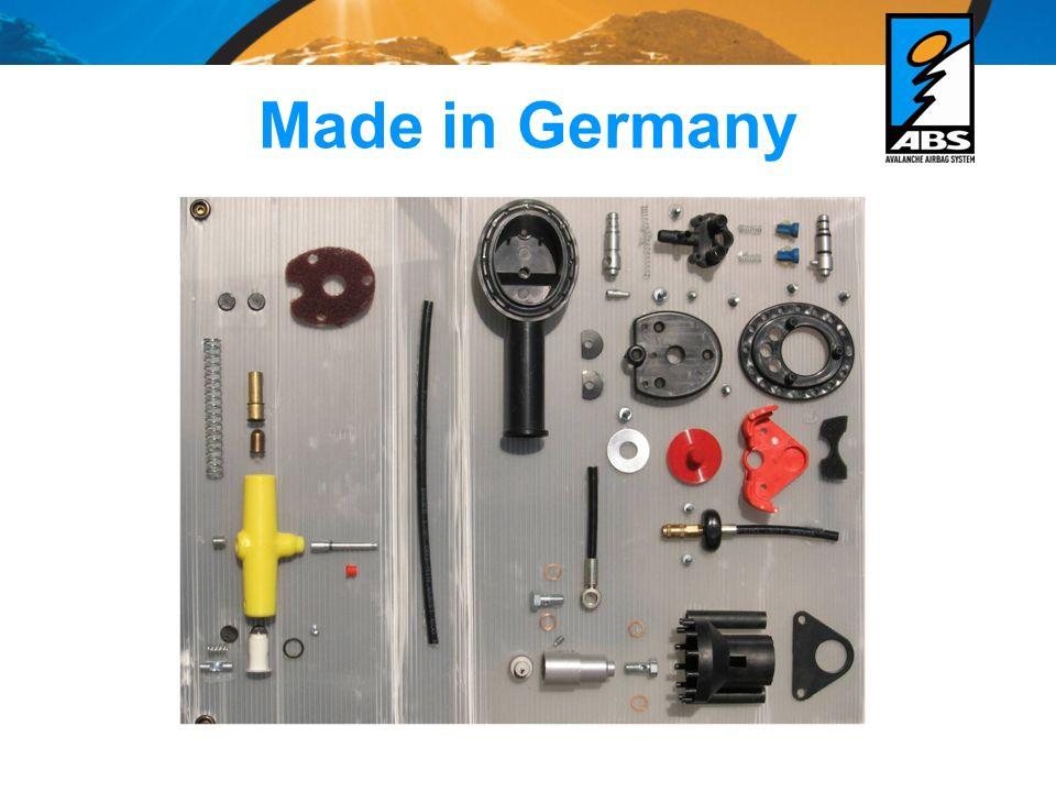 Funzionamento del sistema ABS -tiro sulla maniglia con ca.