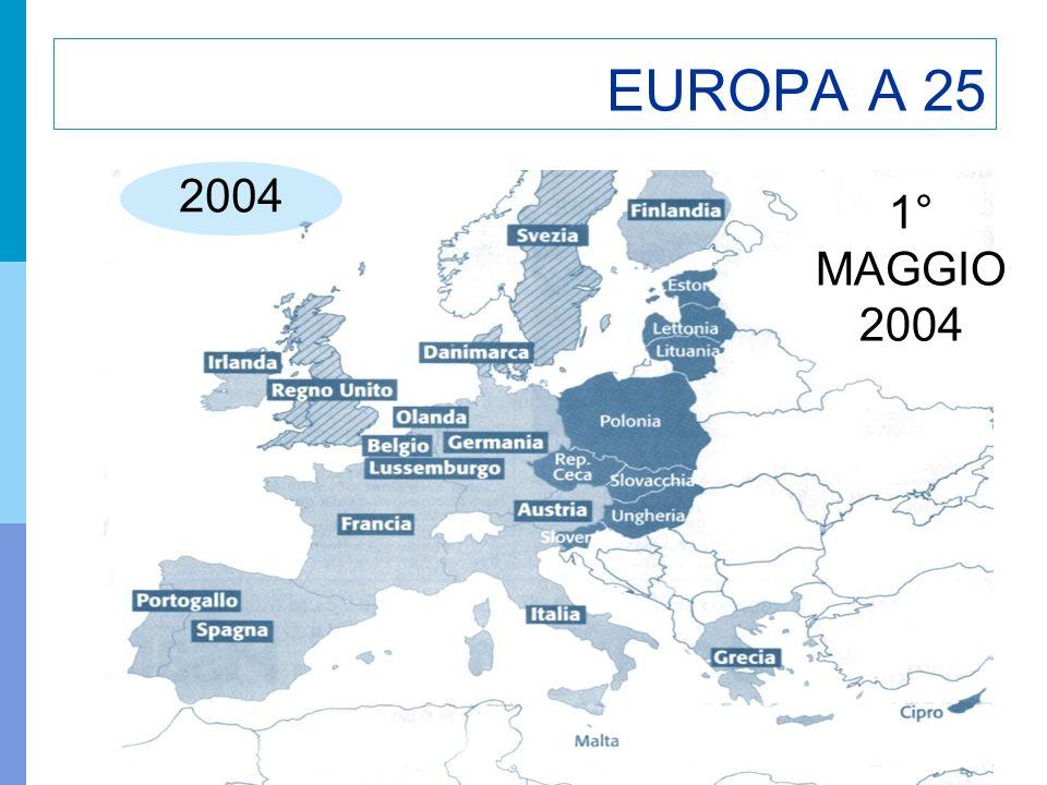 22 EUROPA A 25 2004 1° MAGGIO 2004