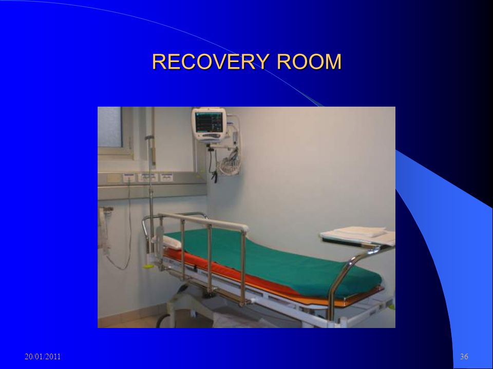RECOVERY ROOM 20/01/2011 36