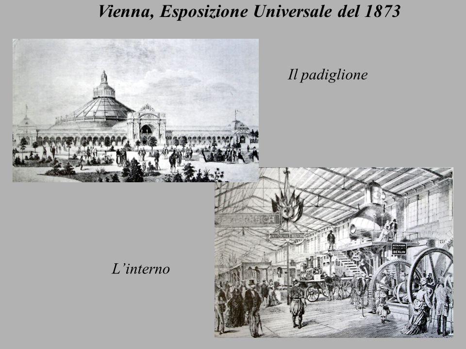 Vienna, Esposizione Universale del 1873 Il padiglione Linterno
