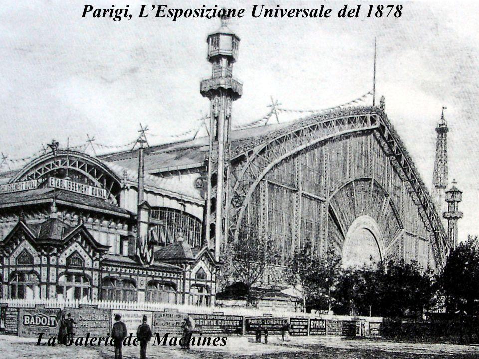 Parigi, LEsposizione Universale del 1878 La Galerie des Machines