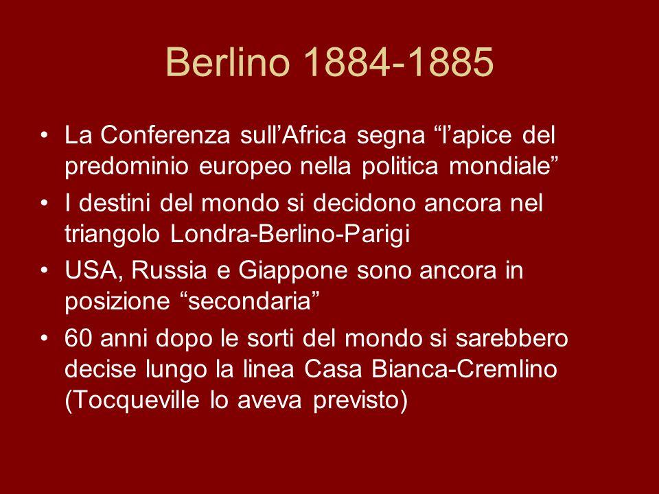 Una carta inglese dellAfrica dopo la Conferenza di Berlino.