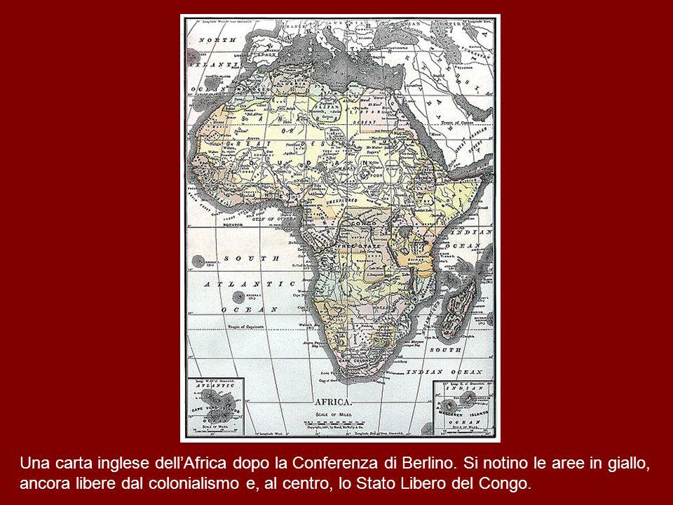 Lo smembramento del continente nero da parte dell Occidente