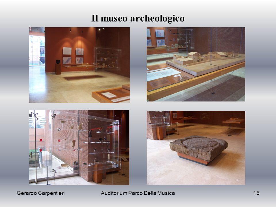Gerardo CarpentieriAuditorium Parco Della Musica15 Il museo archeologico