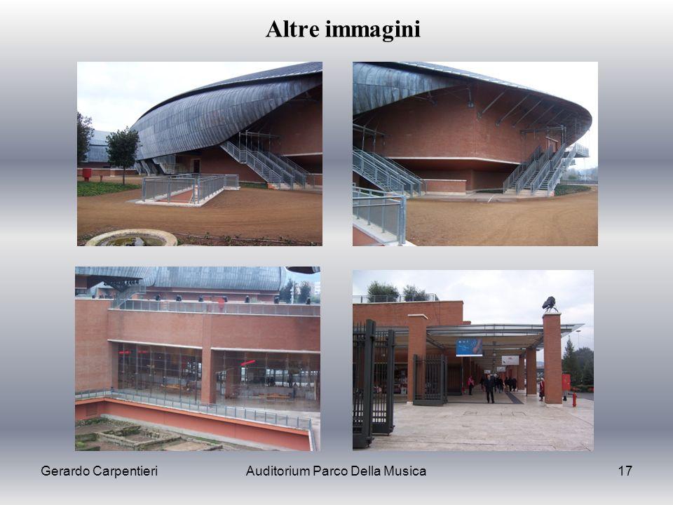 Gerardo CarpentieriAuditorium Parco Della Musica17 Altre immagini