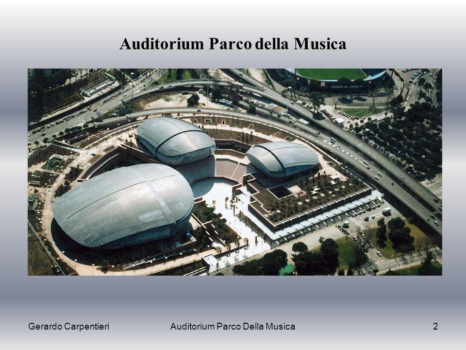 Gerardo CarpentieriAuditorium Parco Della Musica2 Auditorium Parco della Musica