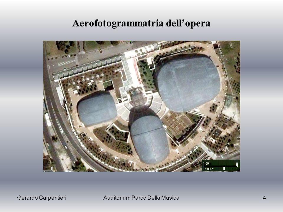 Gerardo CarpentieriAuditorium Parco Della Musica4 Aerofotogrammatria dellopera