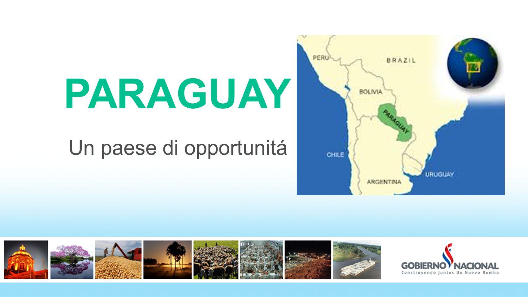 Un paese di opportunitá PARAGUAY