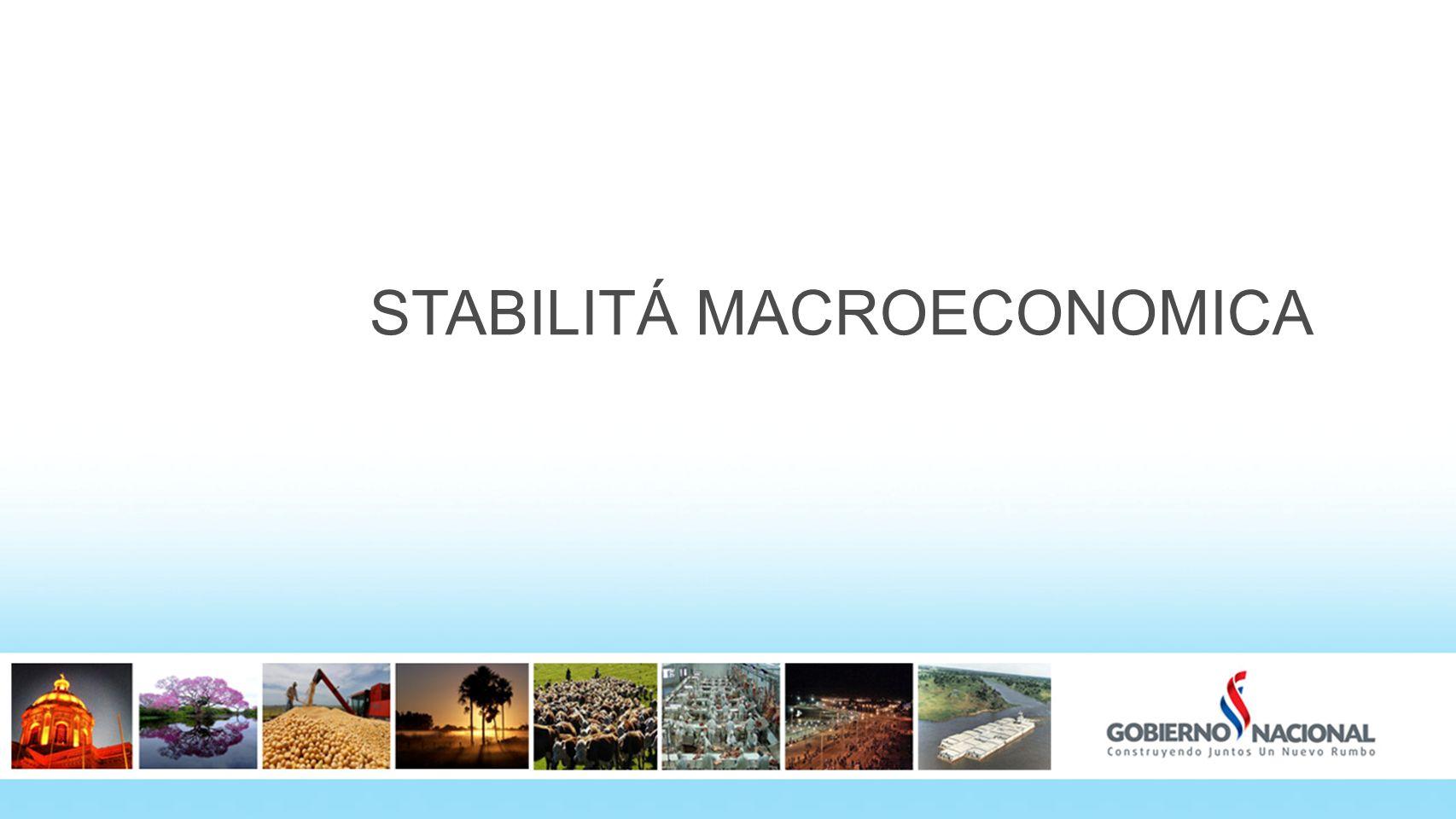 STABILITÁ MACROECONOMICA