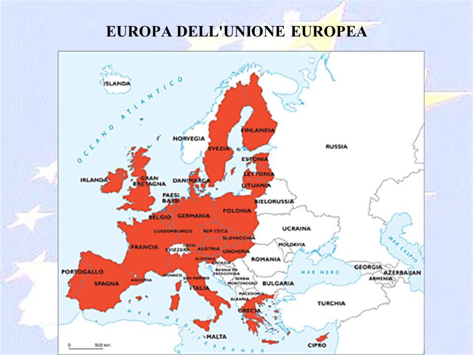 EUROPA DELL'UNIONE EUROPEA