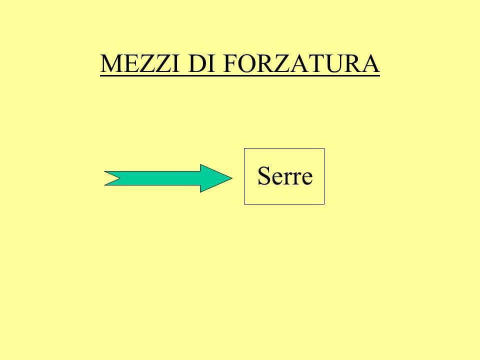 MEZZI DI FORZATURA Serre