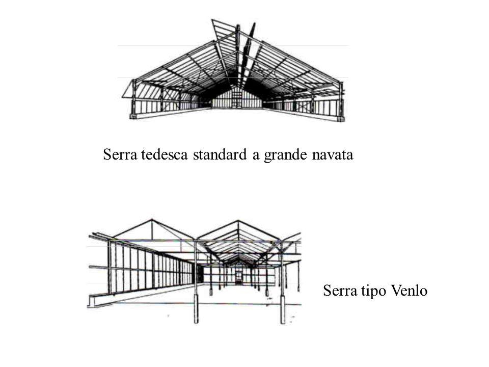Serra tedesca standard a grande navata Serra tipo Venlo