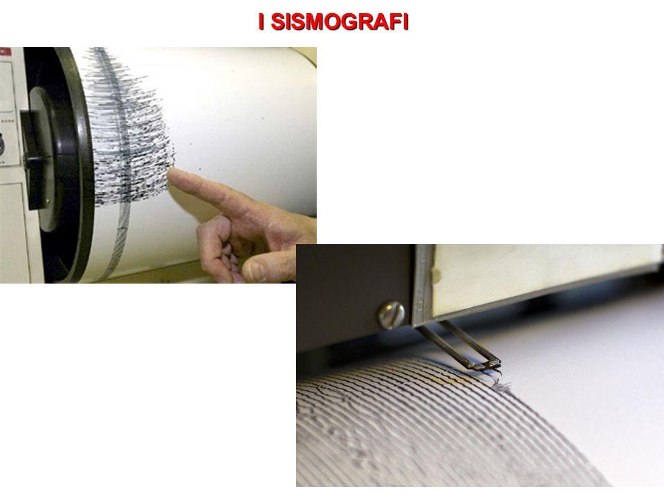 I SISMOGRAFI
