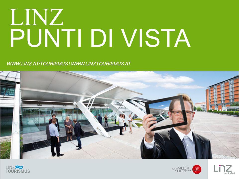 SICHTWEISEN WWW.LINZ.AT/TOURISMUS I WWW.LINZTOURISMUS.AT LINZ PUNTI DI VISTA