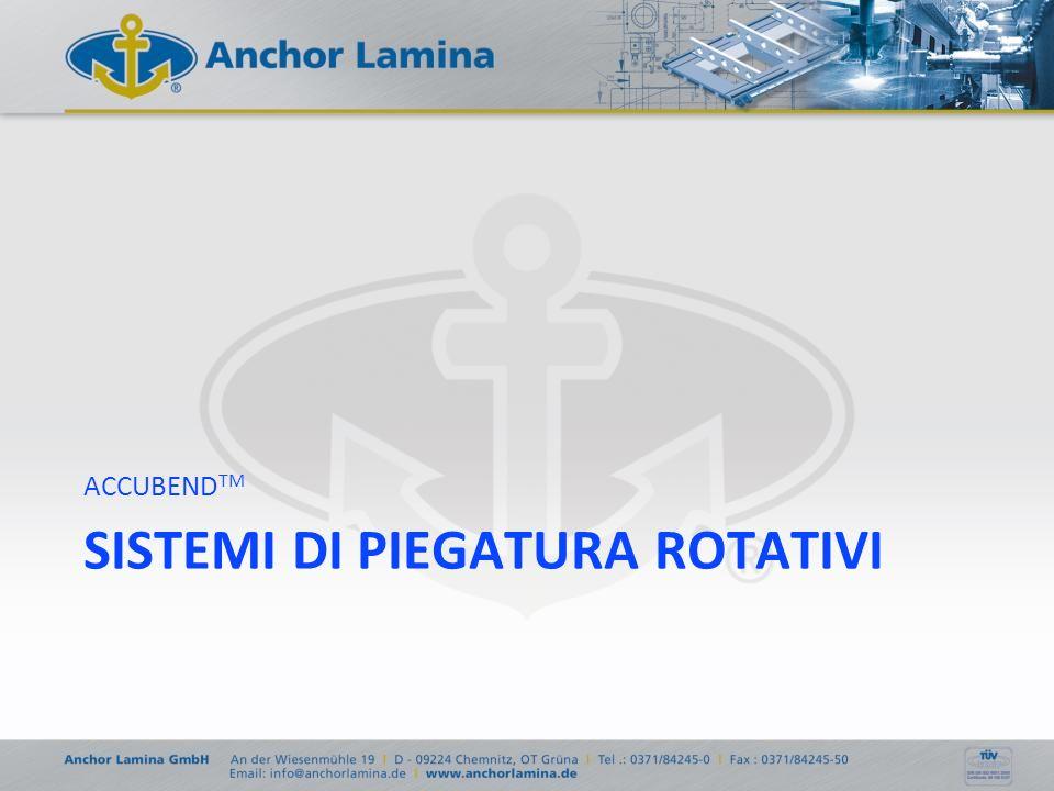 SISTEMI DI PIEGATURA ROTATIVI ACCUBEND TM