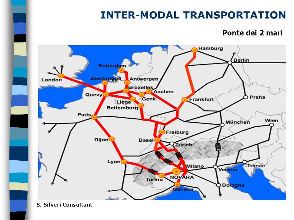 INTER-MODAL TRANSPORTATION S. Silveri Consultant Ponte dei 2 mari