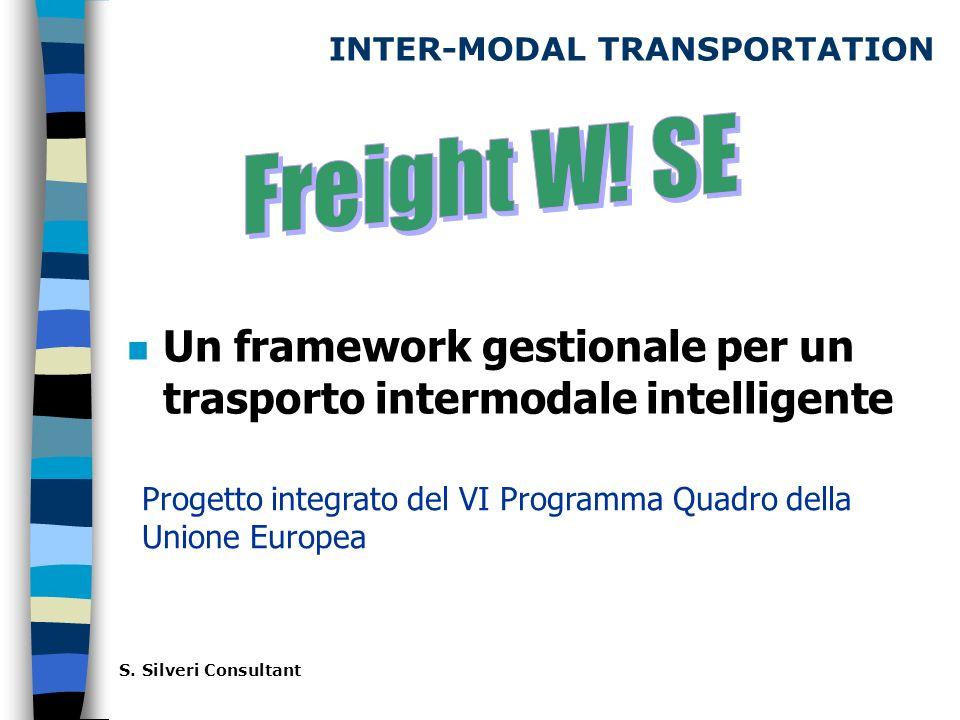 INTER-MODAL TRANSPORTATION n Un framework gestionale per un trasporto intermodale intelligente S.