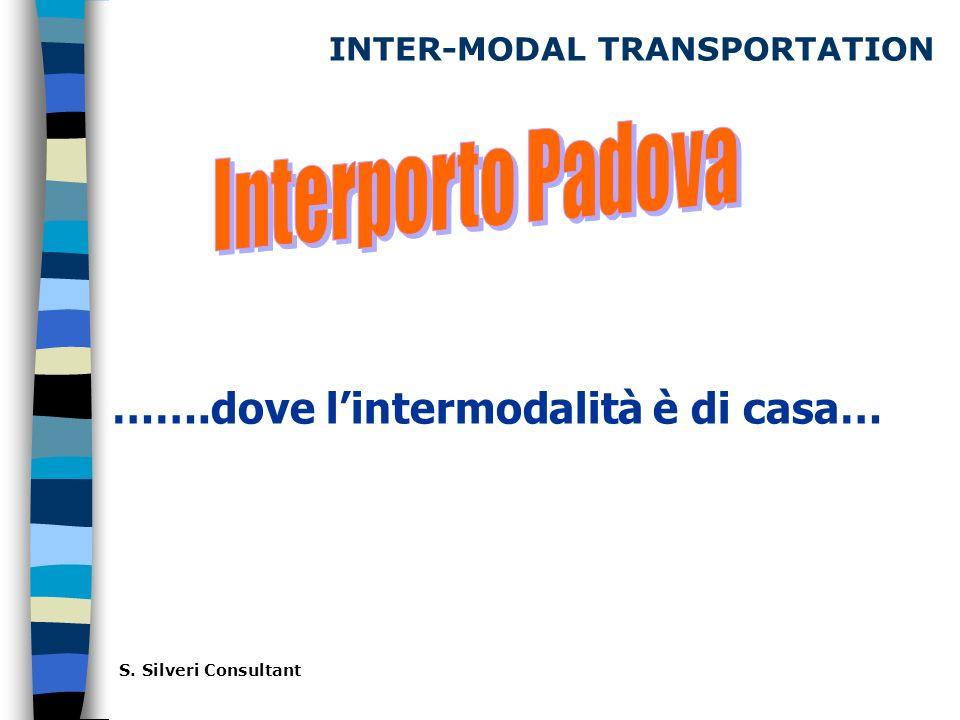 INTER-MODAL TRANSPORTATION …….dove lintermodalità è di casa… S. Silveri Consultant