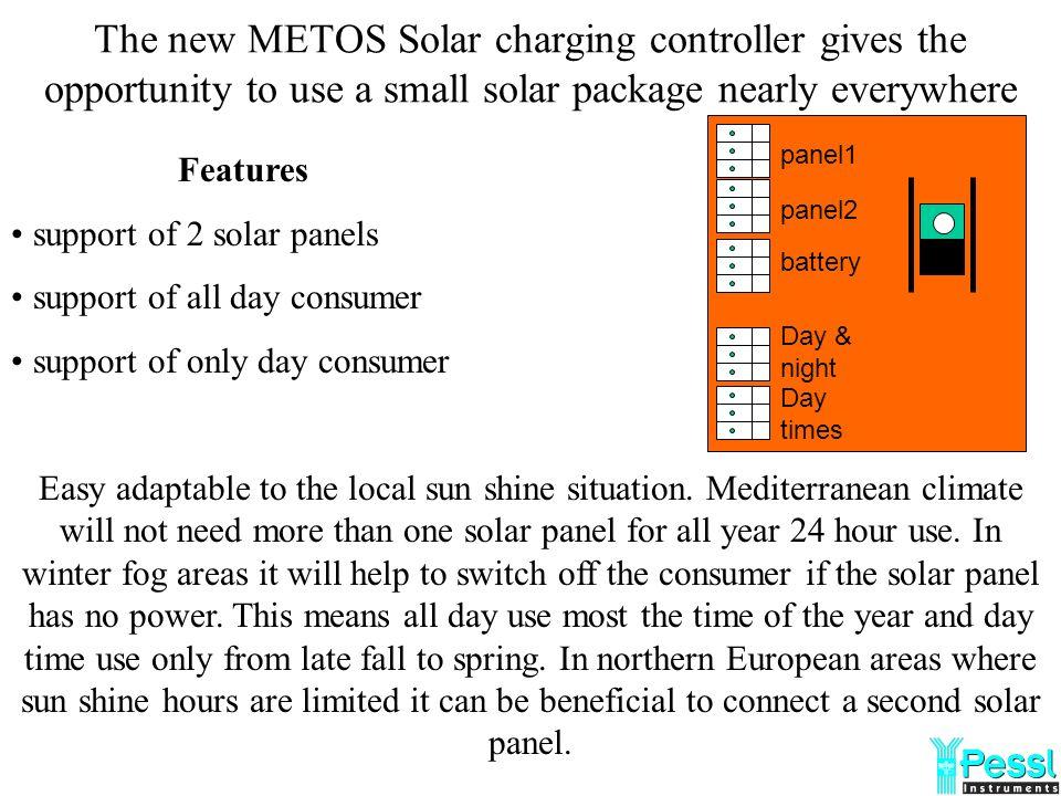 i@METOS Compact con GSM Wavecom 5/4 wave length METOS Solar panel 6V 1.6W Lead Acid Battery 6V 4Ah Metos Solar charging controller Wavecom modem anten