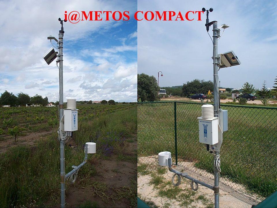 Temperatura del Suolo Umiditá del terreno Direzione e Velocitá del vento Radiazione Globale Management d´irrigazione con: