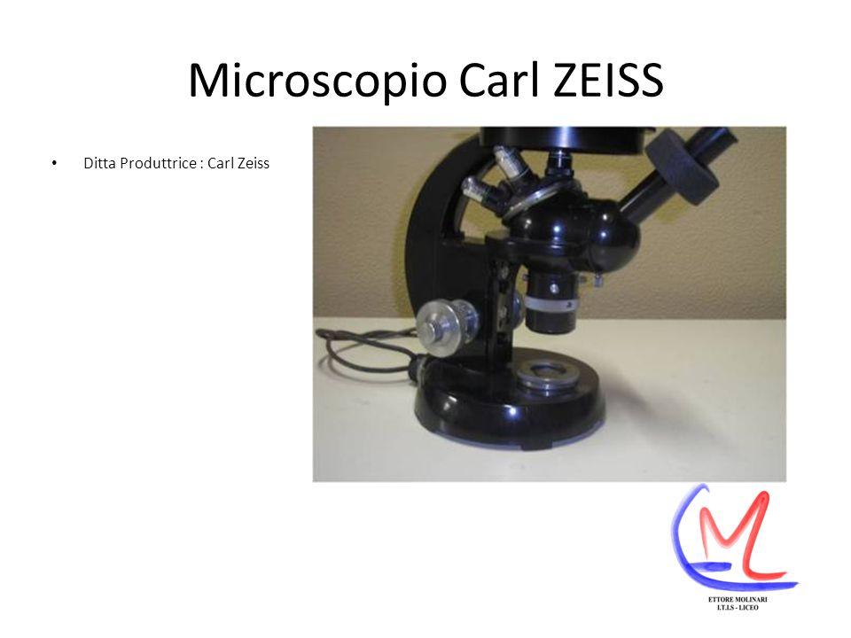 Microscopio Carl ZEISS Ditta Produttrice : Carl Zeiss