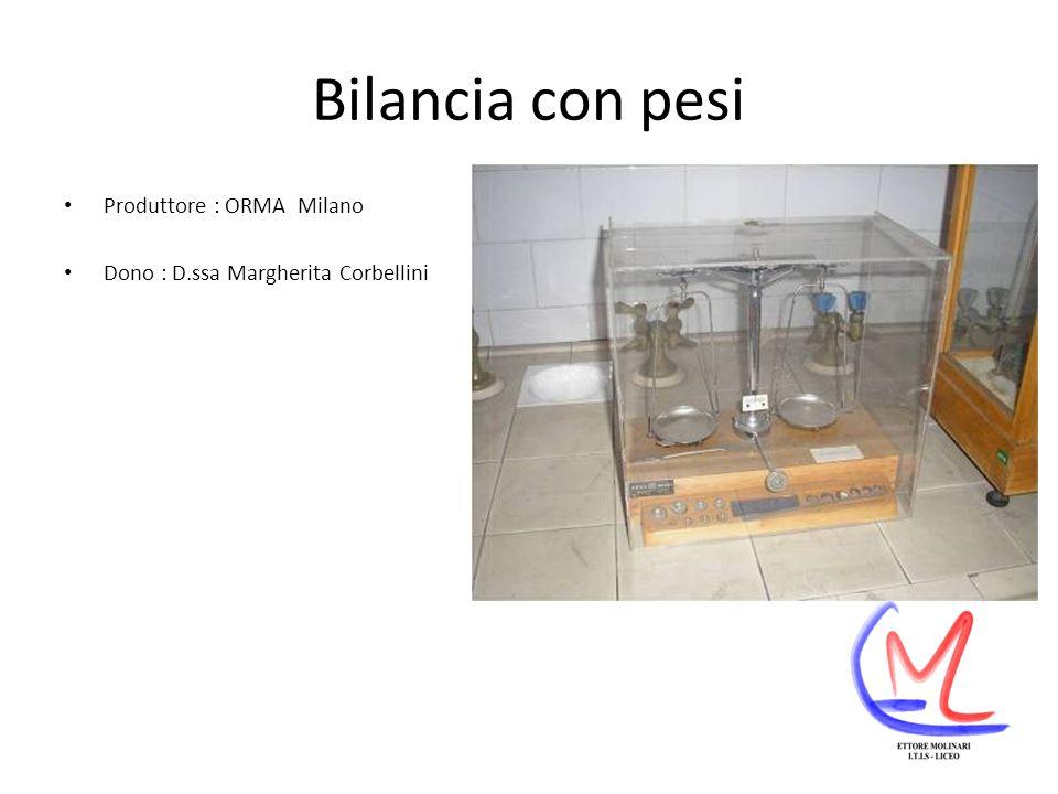 Bilancia elettrica monopiatto Produttore : METTLER Bilancia analitica con portata massima 180 gr.