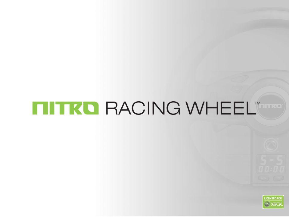 Entra nella nuova generazione dei racing game con il Volante Nitro Racing di JOYTECH.