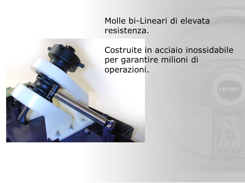 Molle bi-Lineari di elevata resistenza.