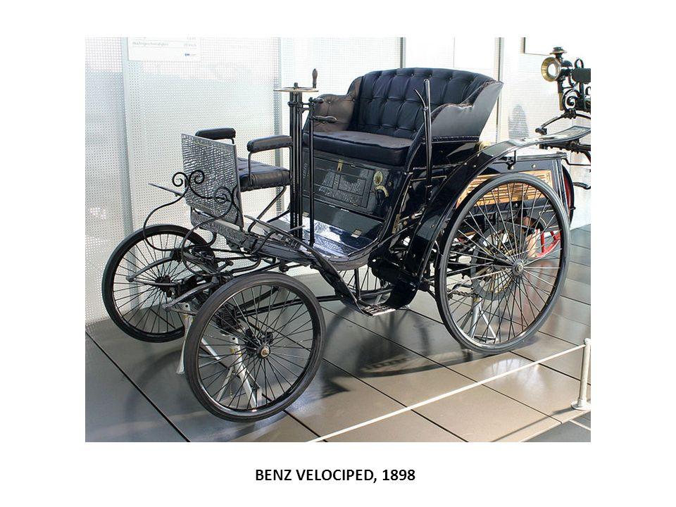 BENZ VELOCIPED, 1898