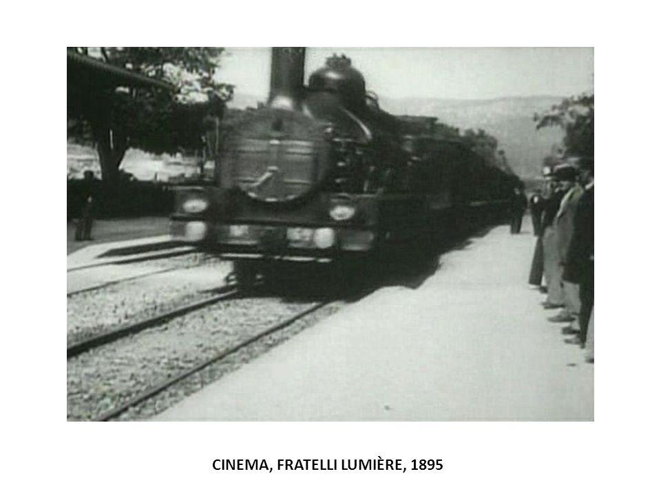CINEMA, FRATELLI LUMIÈRE, 1895